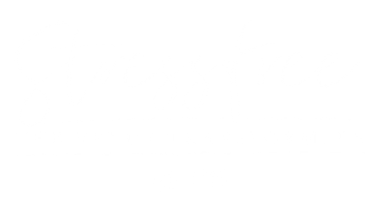Stressfree logo white on black