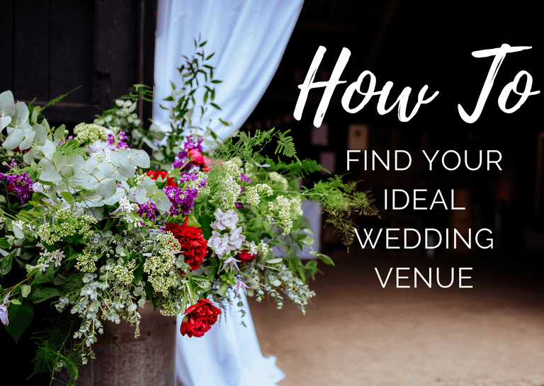 blog post on how to find your ideal wedding venue